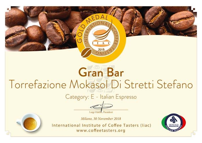 Gran Bar - Premium Coffee Blend (80% Arabica / 20% Robusta)