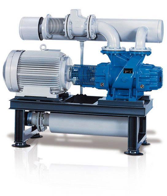 AERZEN Unterdruck-Aggregat mit Voreinlass GM ... Sm/Lm - Unterdruck-Aggregat
