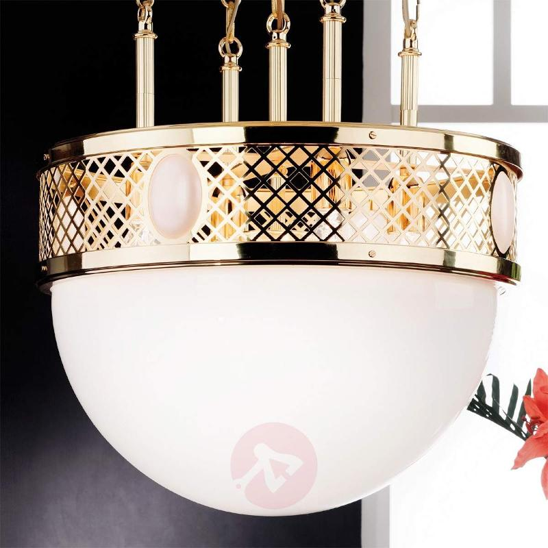 Alt Wien Hanging Light Attractive Brass - Pendant Lighting