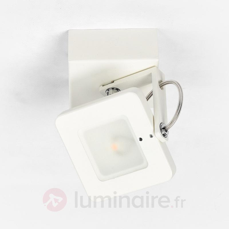 Spot mural LED Kena inclinable et variable - Appliques LED