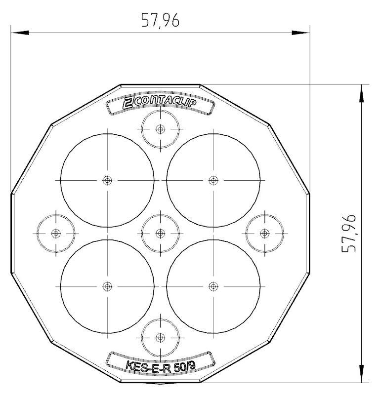KES-E-R 50/9 A GR | Kabeleinführung - null