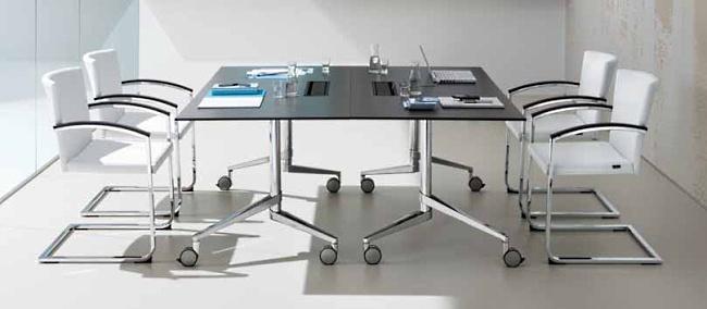 Konferenzklapptische - flex table - null