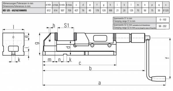ALLMATIC HD 125 - Geeignet für schwere Zerspanung, Einzelstücke und Kleinserien
