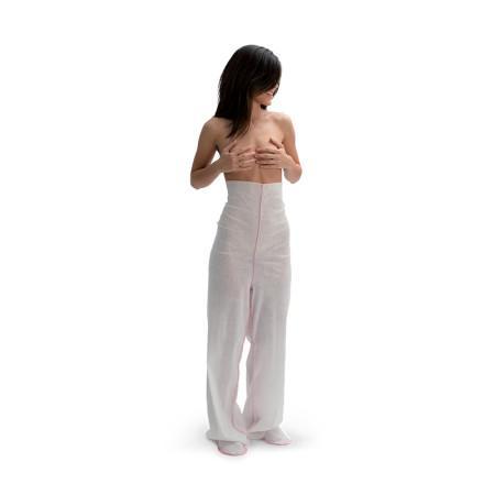 Pantalone iono in sontlace piede aperto o chiuso - null