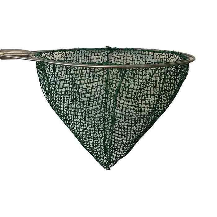 Dip net | assembled | round | 50cm circumference | mesh 15mm