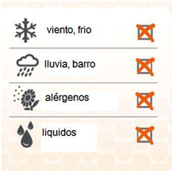 Mosquitera o filtro de ventana y facial - Anti polución y alergias al polen