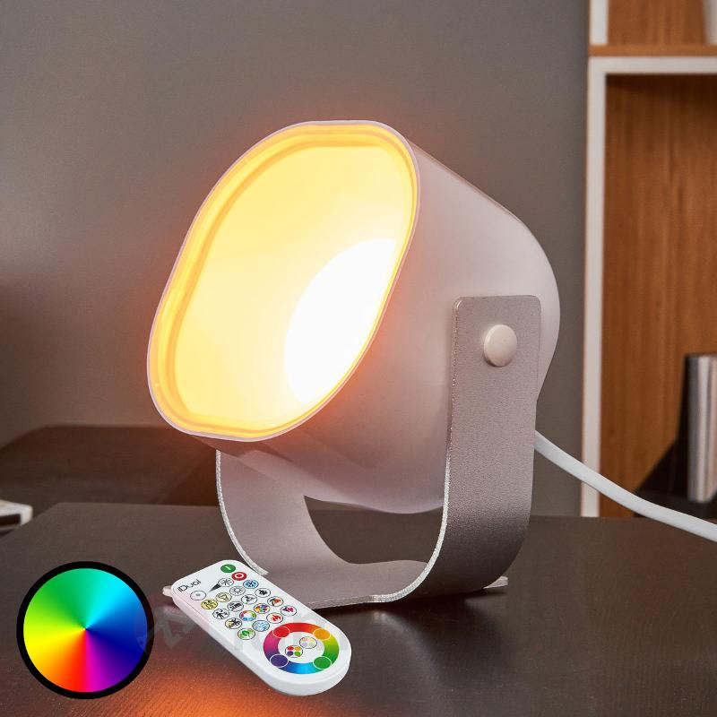 Spot LED Lilac avec télécommande - null