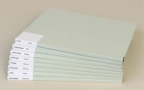Dossiers et boites pour colonnes et armoires rotatives - Dossiers posés et boites posées
