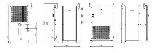 Tcu15÷36 Grandezza 1 Refrigeratori Industriali Per Fluidi Inquinati O Sporchi - LINEA REFRIGERAZIONE