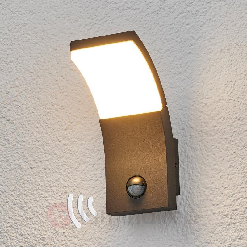 Applique d'extérieur LED Timm avec capteur - Appliques d'extérieur avec détecteur
