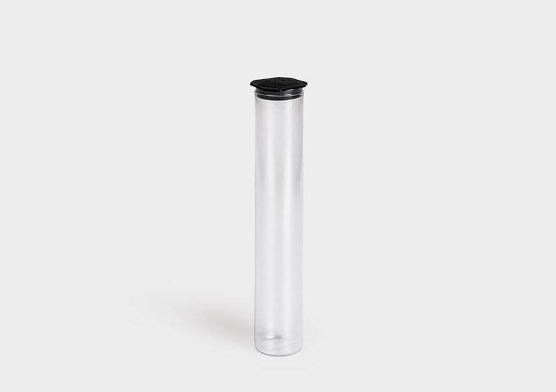 PlugPack - 带端盖的圆形塑胶包装管