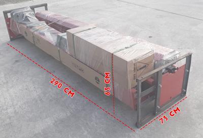 Pont élévateur 2 colonnes 3,5T ECO - Pont élévateur à déverrouillage manuel QJY235