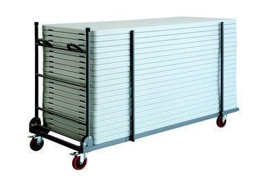 Chariot Xl Trolley Table Rectangle 150 Cm 180 Cm  - Tables De Collectivités