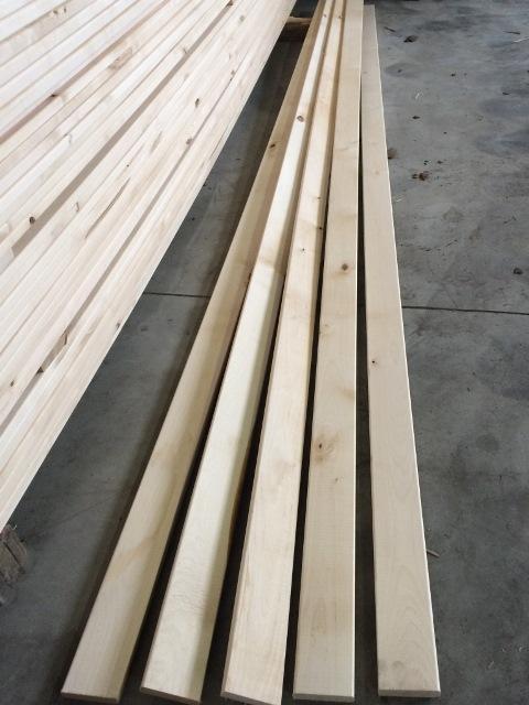 Birch furniture elements - furniture mouldings