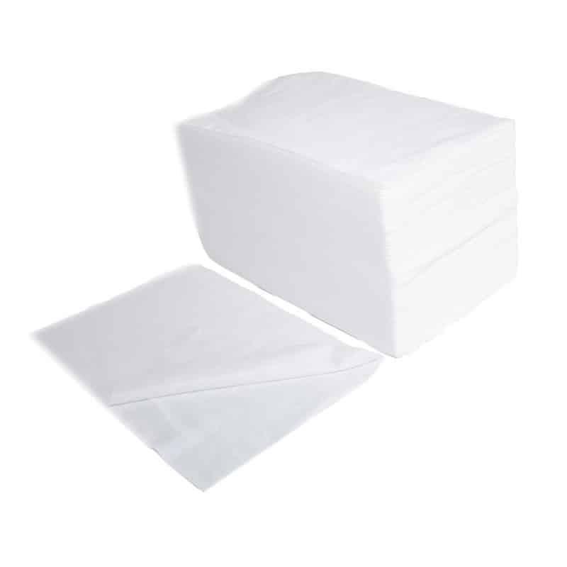 Toalla Spunlace Perforada 50×70 Blancas O Negras Planethair Store® - null