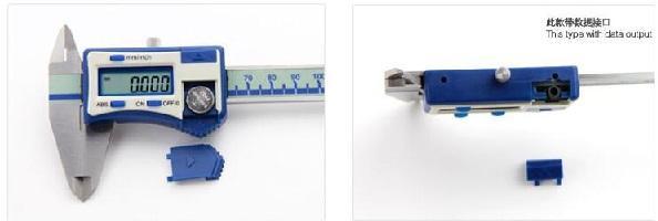 """Высокоточный цифровой суппорт - Разрешение: 0,005 мм / 0,0002"""" 4 Кнопки: ноль, мм / дюйм, вкл / выкл, ABS"""