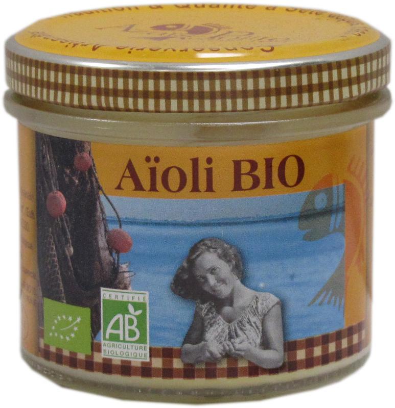 Aïoli Bio aux oeufs frais 13cl - Epicerie salée