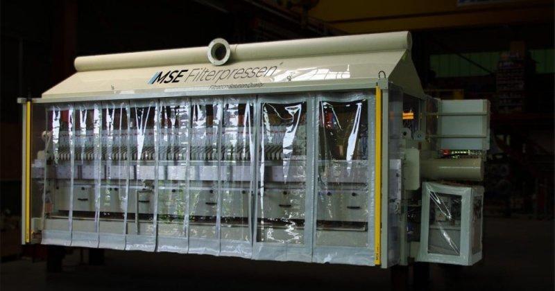 Filtro prensa de goma - El filtro prensa de goma - Máxima protección contra la corrosión