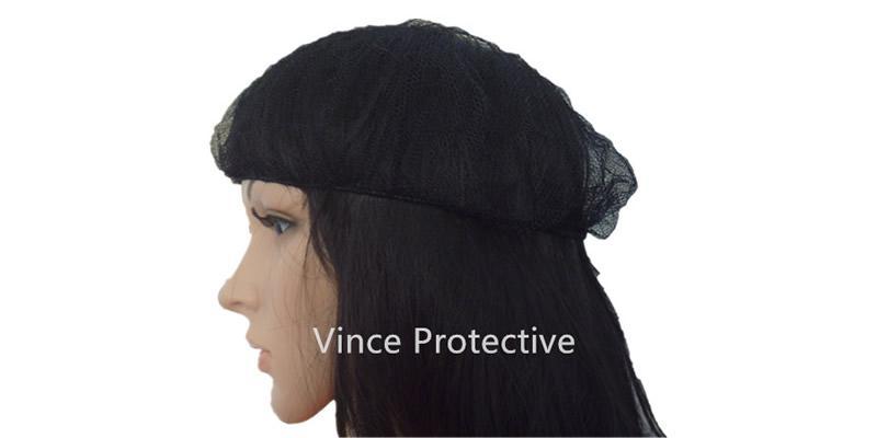 Black Nylon Mesh Cap -