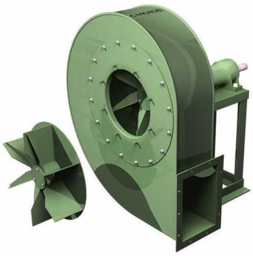 Gft - Ventilateur Moyenne Pression Type Gft - Transmission Poulie Courroie - null
