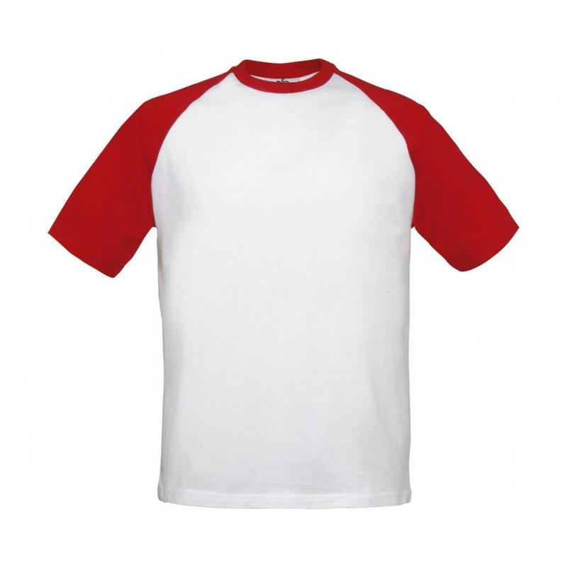 Tee-Shirt ample Baseball - Manches courtes