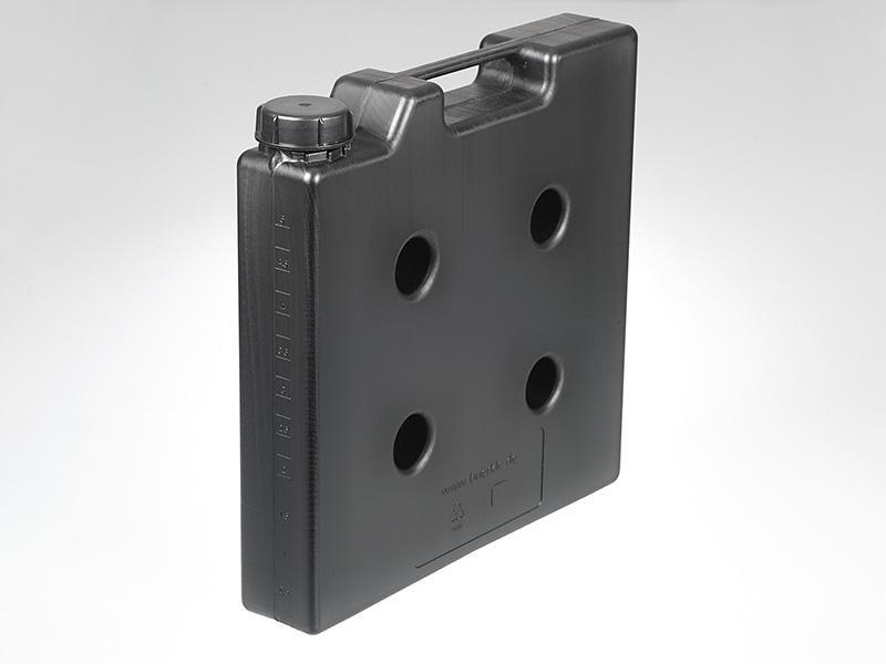 Recipiente compacto, eléctricamente conductivo - Recipiente , ideales para ahorrar espacio