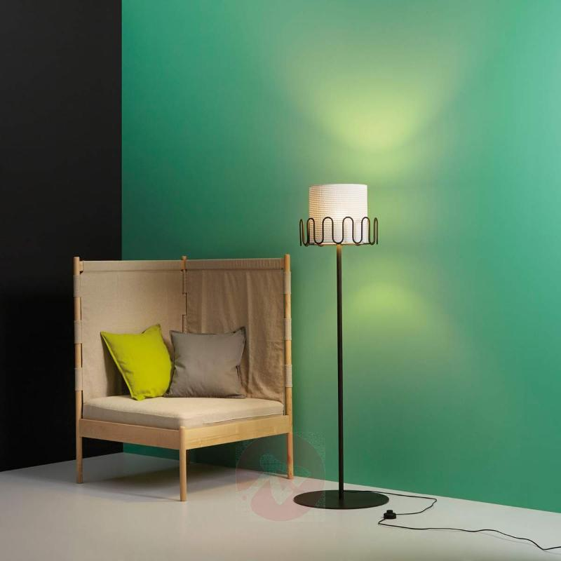 Floor lamp Frilly with coat hooks - Floor Lamps