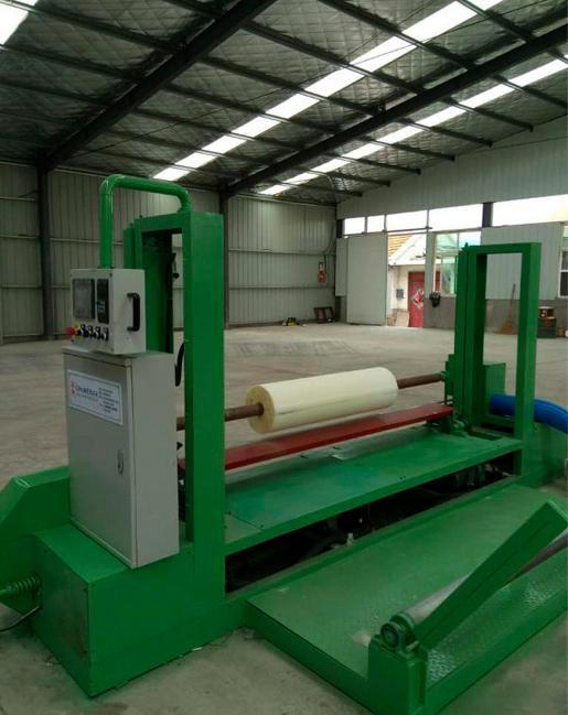 Round Foam Block Cutting Machine -