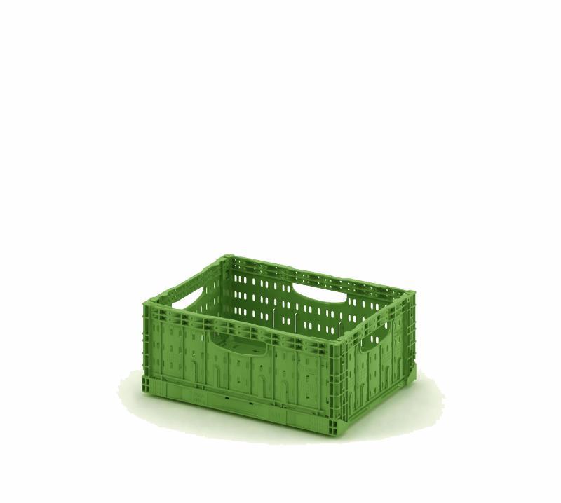 Foldable crate 400х300х116 - Art.: 12.424