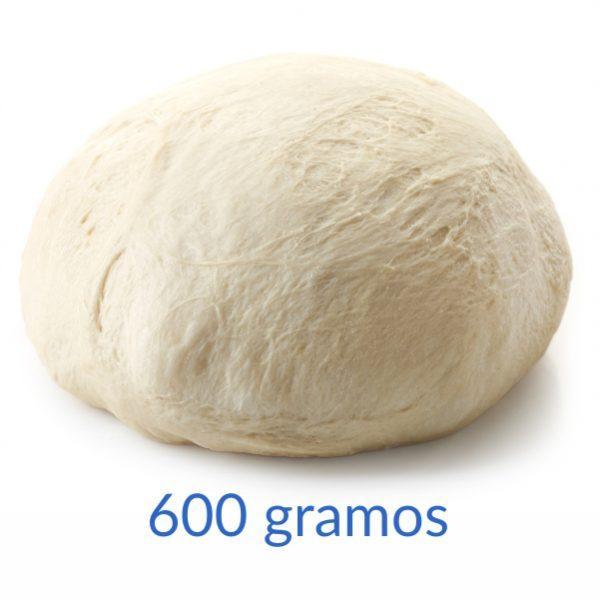 Masa de Pizza 600 gramos - Bolas de masa de 600 gramos
