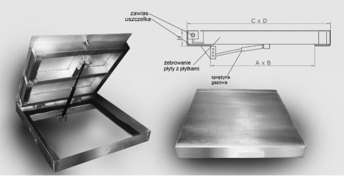 المناهل وأغطية الفتحات اللوحية - حلول فردية من الفولاذ المقاوم للصدأ