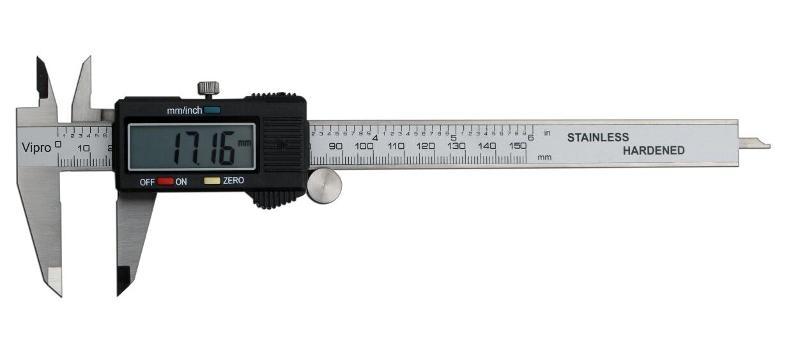 Big LCD digital caliper - MEASURING INSTRUMENTS