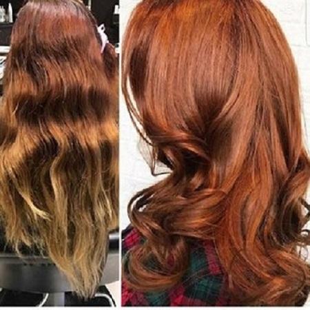 For sensitive people hair dye  color Organic based Hair dye  - hair7869130012018