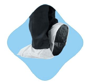 PP SHOE COVER WITH PVC ANTI-SLIP SOLE