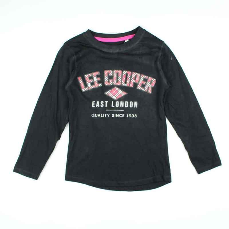 Großhandel kleidung kind t-shirt Lee Cooper - T-shirt und polo langarm