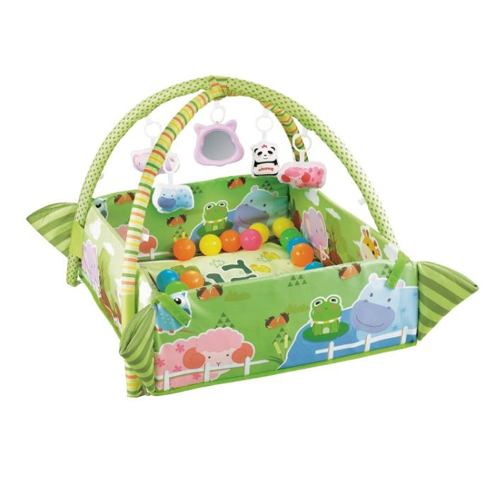 Infantino 4-in-1 Jumbo Baby Activity Gym & Ball Pit - Baby Products
