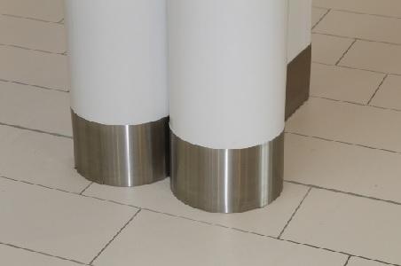 Habillage métallique  - Centre commercial Les 4 Saisons à Meaux 77