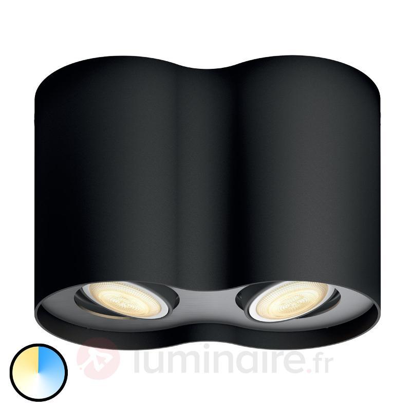 Spot LED Philips Hue Pillar à 2 lampes, variateur - Philips Hue