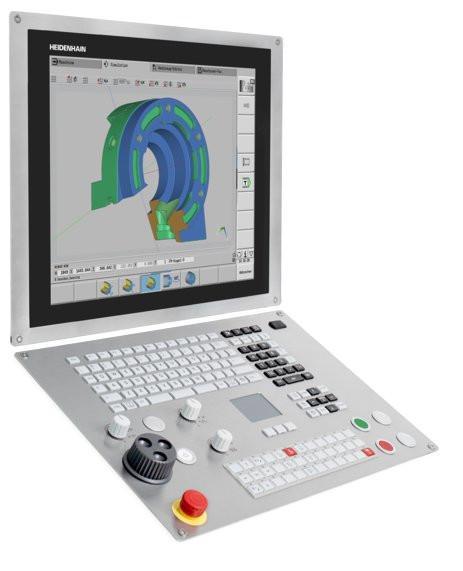 TNC 640数控系统 - 适用于铣床和铣车复合加工机床的TNC数控系统
