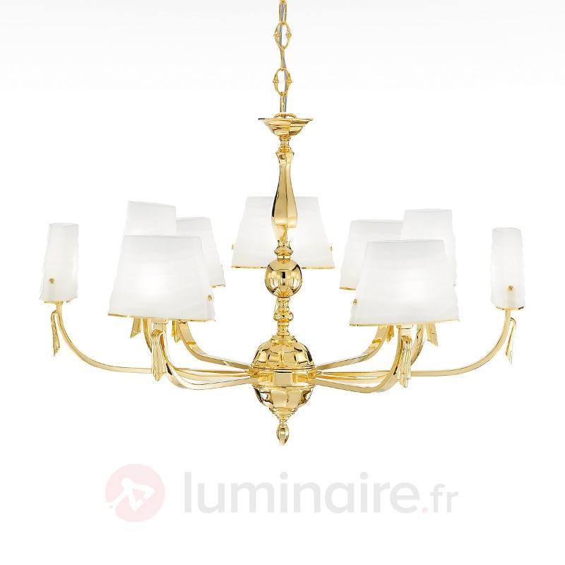 Magnifique lustre BOHEME à 9 lampes - Lustres designs, de style