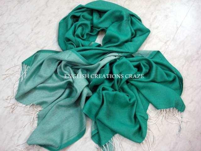 Silk reversible Scarves - Silk reversible Scarves
