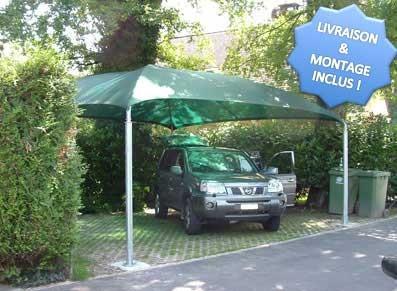 Poteaux france fabricant producteur entreprises - Abri voiture en toile ...