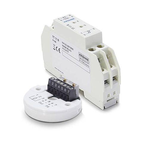 OPTITEMP TT 11 C/R - Transmisor de temperatura en riel DIN / Pt100 / analógico / max. 10 V