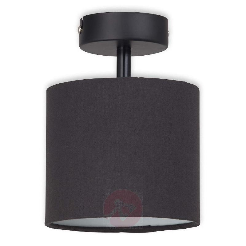 Pivotable lampshade - brown ceiling light Sandra - Ceiling Lights