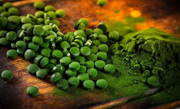 Bio Chlorella Tabletten Naturland zertifiziert - null