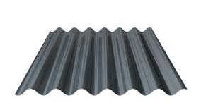 Trapezoidal and profiled sheets for roof and wall - Wall: 100-WA-11