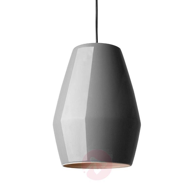 Dark grey hanging light Bell - Pendant Lighting