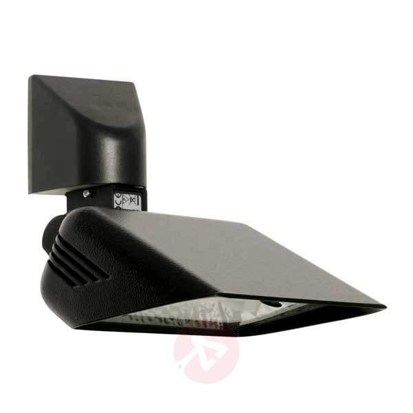 Pivotable outdoor wall spotlight BRIGHT, black - Outdoor Spotlights