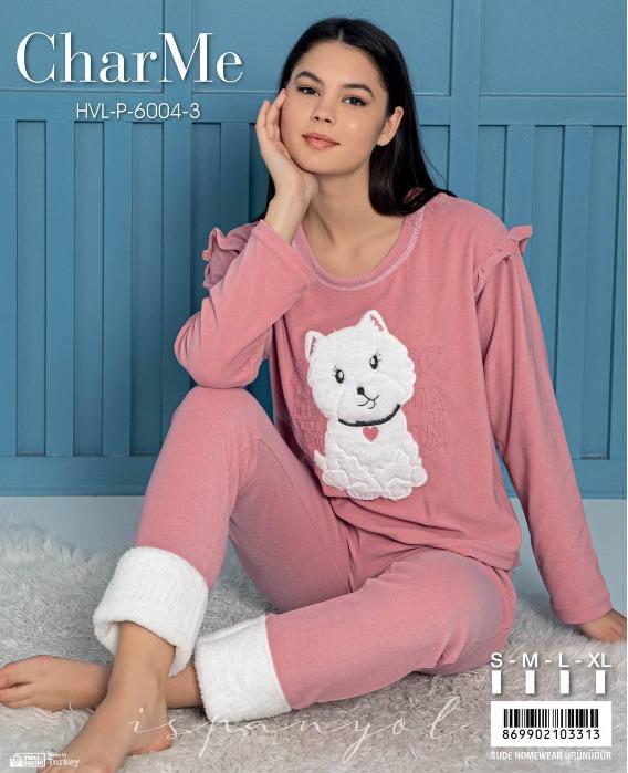 Bayan polar pijama  - Toptan pijamalar