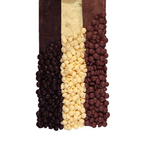 Chocolate chips - Belgian chocolate couverture easy melt chips